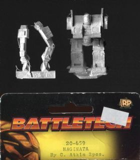 Ral Partha Battletech 20-659 Naginata (x 1)